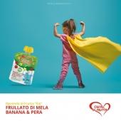 La merenda che ti fa diventare un eroe!🙃 Frullato di Mela, Banana & Pera!🔝💯 #cuoredifrutta #merendadifruttaele #smoothie #smoothifruit #snacktime #summer #fruits #frutta #freshness #foodblogger #babydrinks #drink