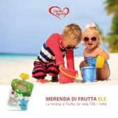 Sta arrivando l'estate!😍⛱☀️ Cosa c'è di meglio in spiaggia di un frullato 100% biologico di Mela, Banana e Pera?! Per la loro e la tua felicità!😋⬇️ #cuoredifruttaele #fruttafrullata #biologica #drink #drinkfruit #biologicdrink #babydrink #fruits #babysnacks #babysnackideas #biologicsnack #babyfood #merendasana #merendadifrutta